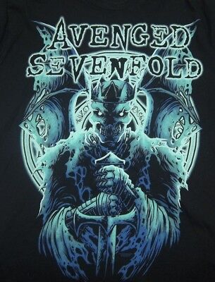 NWT Avenged Sevenfold Concert Only T Shirt Size Large Excellent Design