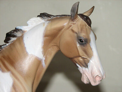 Romance Artist Resin Horse by Kitty Cantrell Pinto Painted by Sheri Rhodes NAN