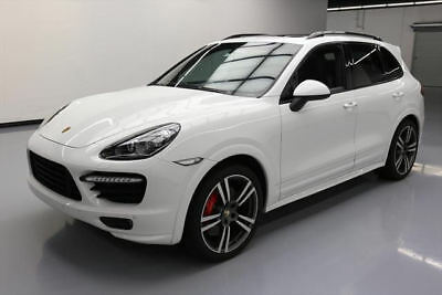 2013 Porsche Cayenne Turbo Sport Utility 4-Door 2013 PORSCHE CAYENNE TURBO AWD PANO ROOF NAV 21'S 51K #A92491 Texas Direct Auto