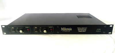 Millennia Media HV-3  Two Channel Preamp - Serviced by Millennia