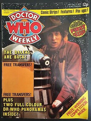 Doctor Who Weekly No1 Oct17 1979