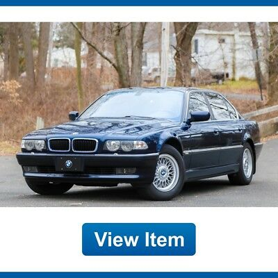 2001 BMW 7-Series IL 2001 BMW 740IL Low 81K Mi Serviced Southern Wide Screen Navi CARFAX