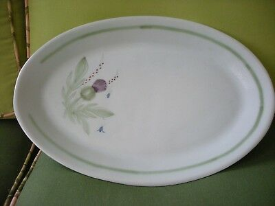 Buchan Finest Stoneware Thistle Platter Made in Scotland Highlander