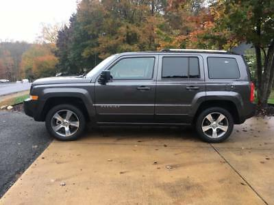 2016 Jeep Patriot 4dr High Altitude Edition Like-new 2016 Jeep Patriot