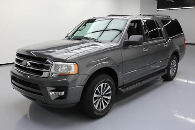 2017 Ford Expedition EL King Ranch Sport Utility 4-Door 2017 FORD EXPEDITION EL XLT 8-PASSENGER REAR CAM 50K MI #A02266 Texas Direct