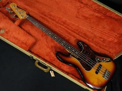 Fender / American Vintage 62 Jazz Bass 2Knob Electric Bass Guitar (Used)