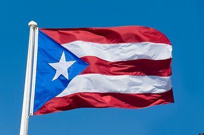Puerto Rico flag 3x5 feet polyester decor USA Porto Rico Flags and Banners