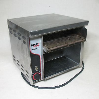 """Apw Wyott At-Express Atxa 10"""" Conveyor Toaster 120V Commercial Stainless Steel"""