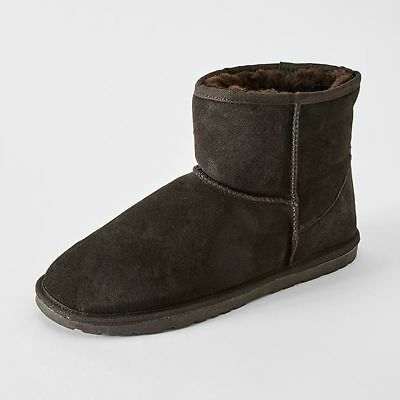 NEW Hound Slipper Ankle Boot - Dark Grey Size 9