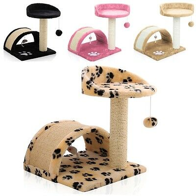 Cat Tree Scratching Cat Furniture Kitten Climbing Activity Center Post Bed