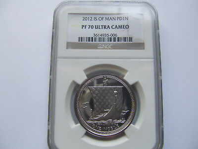2012 ISLE OF MAN  1 oz PALLADIUM NOBLE PERFECT PF70UC BY NGC.  ITS BEAUTIFUL !!