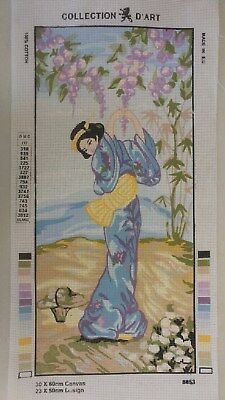Geisha Girl - Collection D'Art Tapestry Canvas 8053
