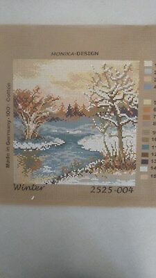Winter - Monika Design Tapestry Canvas 2525-004