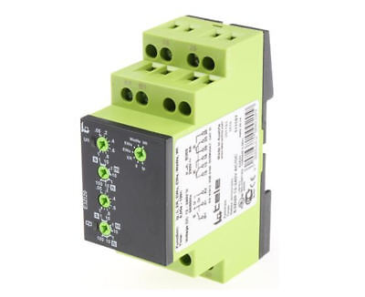 Multi Function Timer Relay, 50 ms - 100 h, DPDT, 2 Contacts, DPDT, 12 - 240 V ac