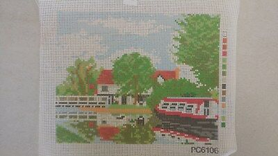 Canal - Tapestry Canvas