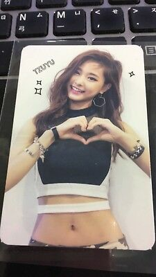 TWICE TZUYU Official PHOTOCARD The Story Begins Red (Adult) Ver. 1st Album 쯔위