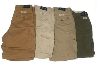 Ralph Lauren Polo Mens Cargo Shorts Classic Fit - Size 32 34 36 42 W  - NWT