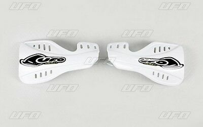 Protege mains UFO blanc motocross Honda CR 125 250 2004 - 2007 moto cross