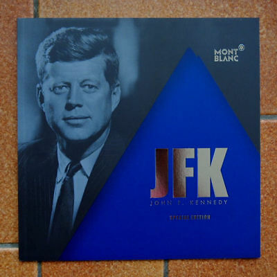 MONTBLANC -  2014 - Booklet  JOHN F. KENNEDY ,  limited Edition, deutsch