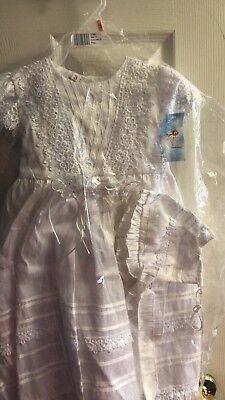 girls christening gown size 2