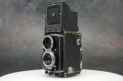 - Rolleicord IV TLR Camera, Schneider Xenar Lens,  Parts or Restoration