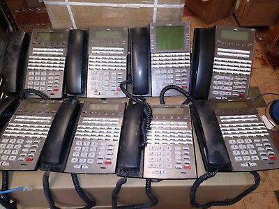 NEC DSX VoIP Phones - 34 Button Display Phones - Lot of 8