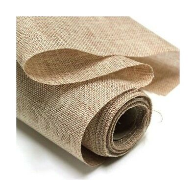 "Hessian Fabric 10oz Jute Burlap Upholstery, Craft 40"" or 60"""