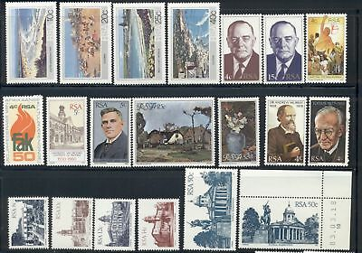 South Africa Assort 11 MNH Scenery Famous People Architecture ART $$