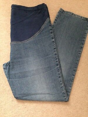 Ladies Maternity Jeans - Size 14 Long Length