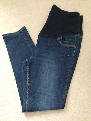 Ladies George Maternity Over Bump Jeans. Size 16. Very Good Condition.