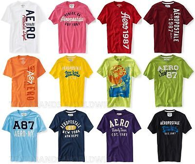 Aeropostale Mens T-Shirt Lot Of 50 You Choose Sizes Nwt Wholesale Resale Shirts