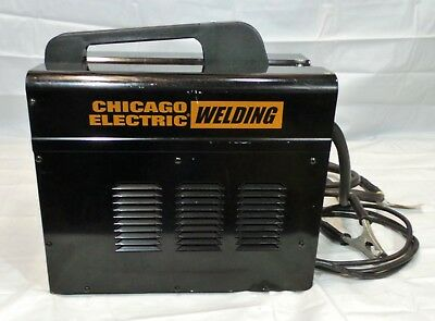 Chicago Electric AC Wire Feed Flux Core Arc Welder 90 Amp 120v