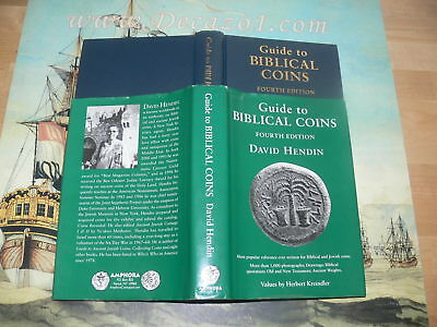 Hendin, David - Guide to Biblical Coins.Signed and dedicated. Limited Edition