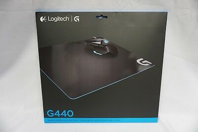 NICE Logitech G440 Mouse Pad Hard Gaming - Black NEW!