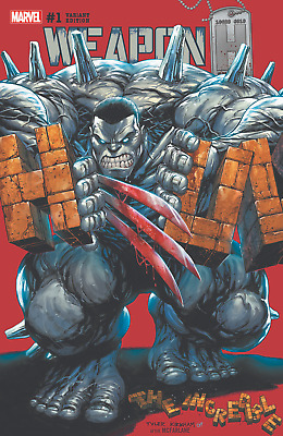 Weapon H 1 Tyler Kirkham A Variant Incredible Hulk Nm Pre-Sale 3/21