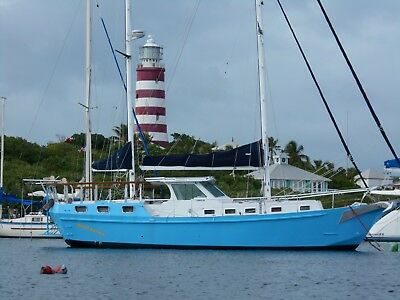50' Aluminum  Expedition  Pilothouse Sailboat