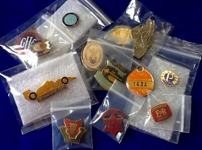 BARGAIN Collectors Lot (13) BADGES Pins CLUBS Sports etc  ... FREE POST