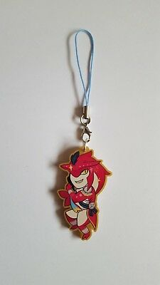 The Legend of Zelda Breath of the Wild BotW Sidon Acrylic Charm Keychain Strap