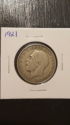 1921 Great Britain Coin  One Florin