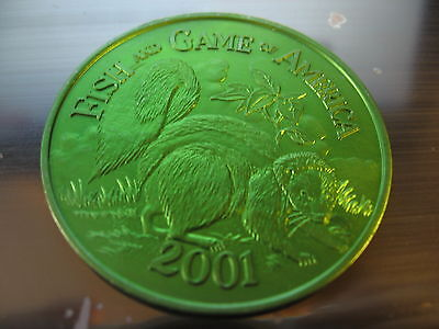 skunk 2001 Mardi Gras doubloon Coin new orleans