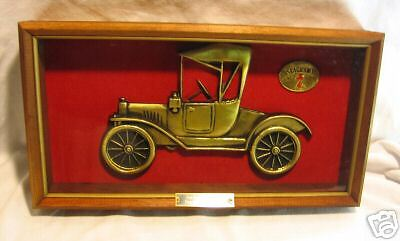 Vintage Seagrams Model - T 1915 Display Box, Sign Advertising