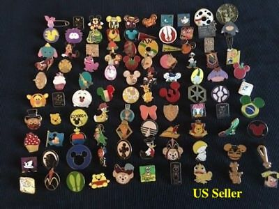 Disney Trading Pin Lot Of 50 -100% Tradable - No Duplicates - Fast U.s. Shipper!