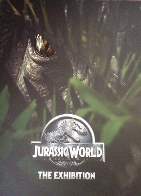 Official Jurassic World The Exhibition Merchandise Program Book