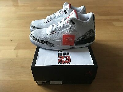NIKE Air Jordan III 3 Retro NRG White cement Free Throw Line DS jordan 3 Tinker