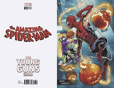 Amazing Spiderman 798 Javier Garron Young Guns Variant Red Goblin Pre-Sale 4/4