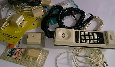 Vintage Telephone Adaptors and cables