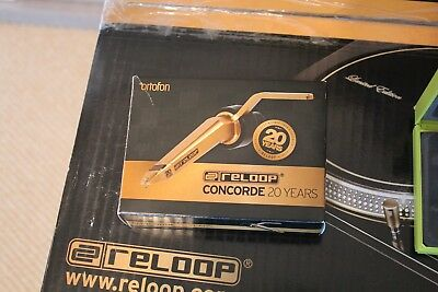 Reloop RP 7000 GLD Turntables Gold Limited Edition
