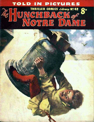 THRILLER COMICS / PICTURE LIBRARY No.42 - HUNCHBACK OF NOTRE DAME -  Facsimile