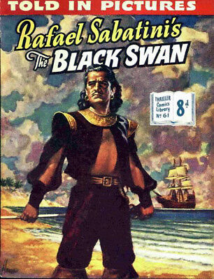 THRILLER COMICS / PICTURE LIBRARY No.61 - THE BLACK SWAN -  Facsimile