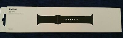 Apple Watch Sport Band Black(Space Gray) Color 38mm Genuine from Apple Brand New